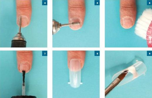 Как наращивают ногти пошаговое для начинающих